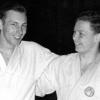 Frank Thiele mit Gerd Alpers, Judo-Sommerschule in Ruit, 04.1954