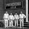 Nach der Dan-Prüfung, Ostern 1955