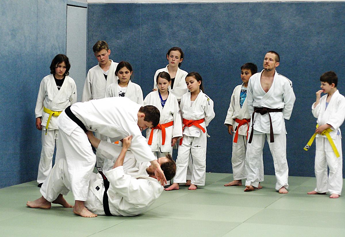 Training der Fortgeschrittenen-Gruppe